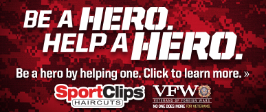 Sport Clips Haircuts of Waco - Texas Marketplace ​ Help a Hero Campaign